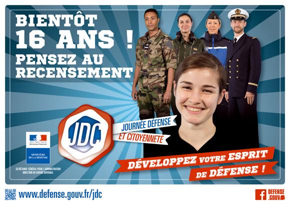 Journée de défense et de citoyenneté